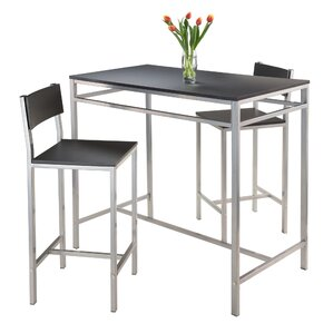 Hanley 3 Piece Pub Table Set by Luxury Home