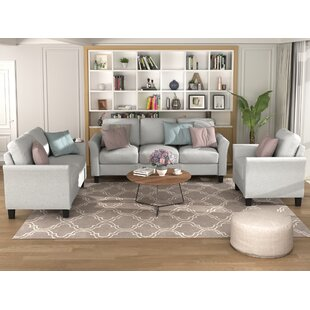 Ellie-Claire 3 Piece Living Room Set by Red Barrel Studio