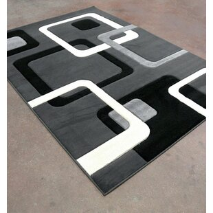 Price comparison Antracite/Black Area Rug By Rug Tycoon