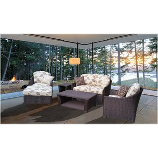 Grimes 6 Piece Sofa Set with Cushions by Darby Home Co