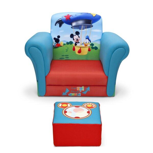 Awe Inspiring Mickey Mouse Desk Chair Wayfair Creativecarmelina Interior Chair Design Creativecarmelinacom
