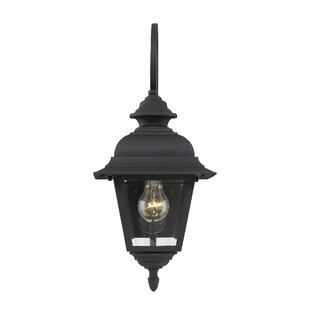 Inexpensive Hartnett 1-Light Outdoor Wall Lantern By Alcott Hill