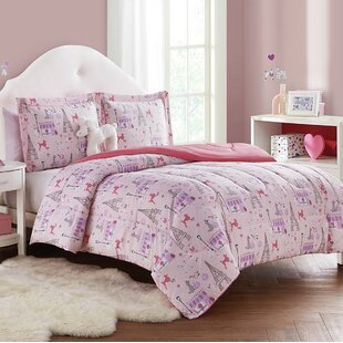 Burford Paris Reversible Comforter Set