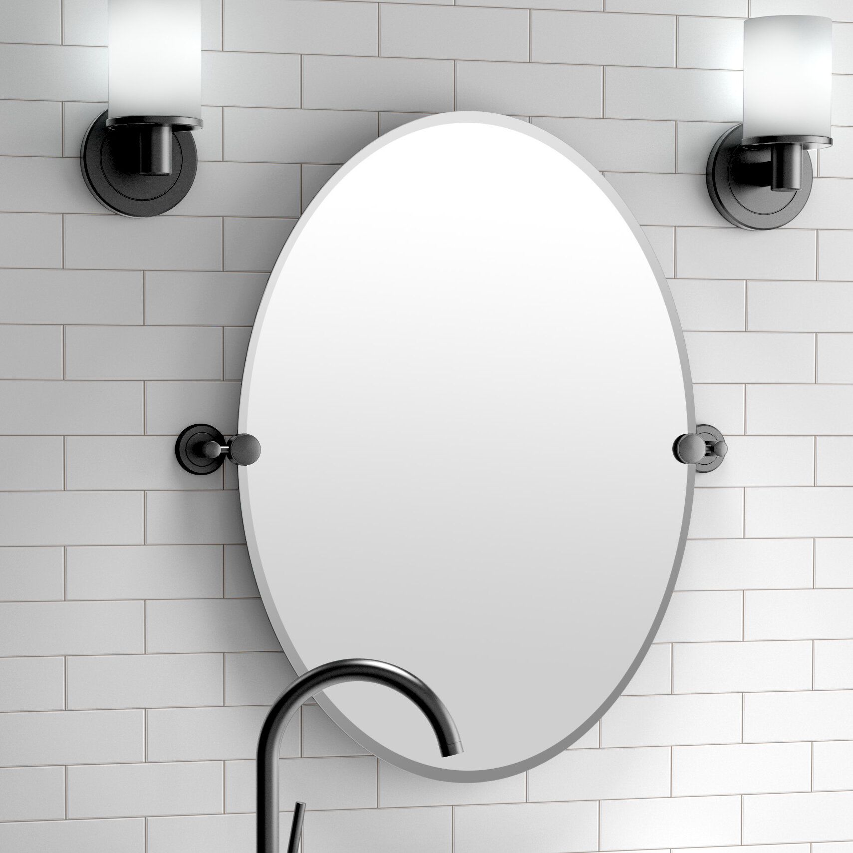 Gatco Latitude II Bathroom/Vanity Mirror & Reviews | Wayfair