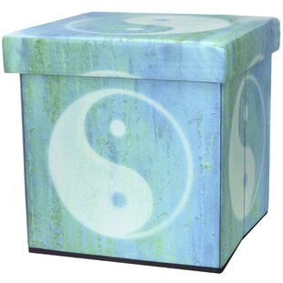 Yin Yang Storage Ottoman by Or..