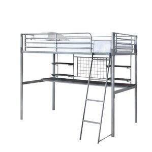 Gabin Twin Loft Bed by Zoomie Kids