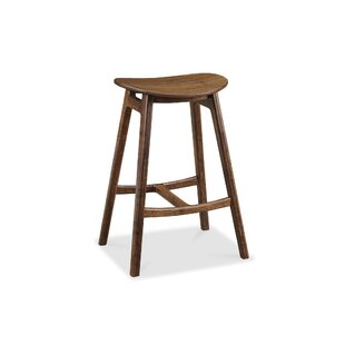 Skol Bar Height 31.75 Bar Stool (Set of 2) Greenington