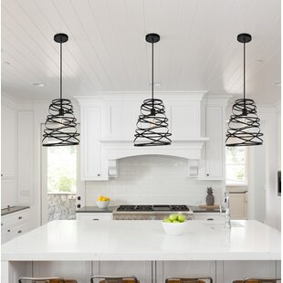 Reinke 1-Light Cone Pendant