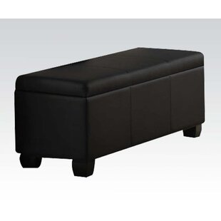 Latitude Run Belfort Upholstered Storage Bench