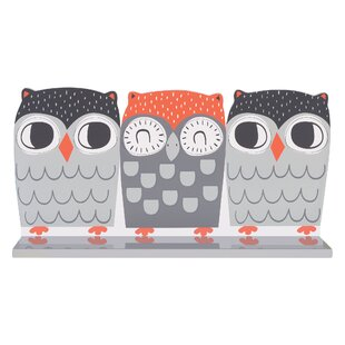 Trend Lab Olive Owl Wall Accent Shelf