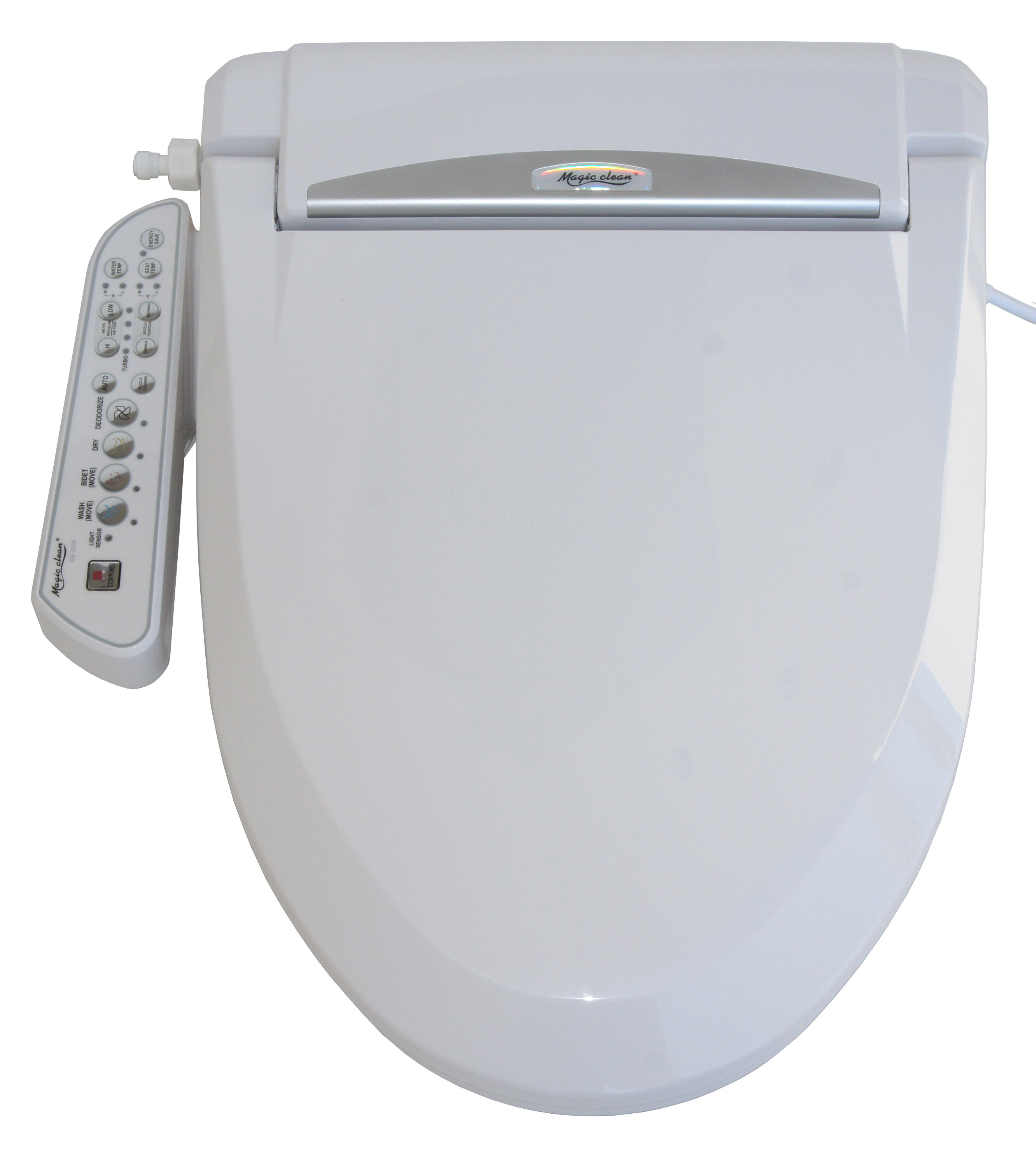 Wondrous Magic Clean Round Bidet With Dryer Pabps2019 Chair Design Images Pabps2019Com