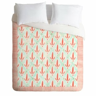 East Urban Home Dash and Ash Hidden Garden Duvet Set