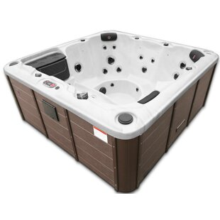 Winnipeg 35-Jet Plug And Play Hot Tub With Waterfall By Canadian Spa Co