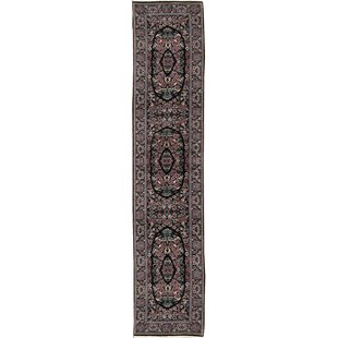 Searching for One-of-a-Kind Prince Handwoven Runner 2'6 x 12' Wool Black Area Rug ByBokara Rug Co., Inc.