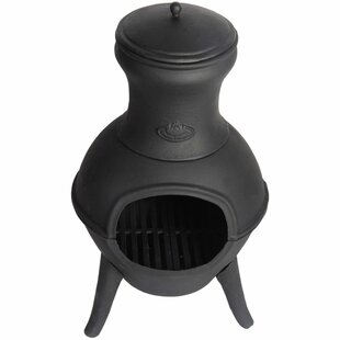 Constant Cast Iron Wood Burning Chiminea By Sol 72 Outdoor