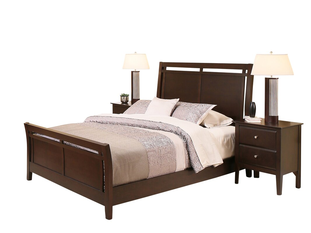 king sleigh co frame bed solid dp size oak french uk amazon home super kitchen