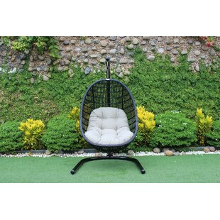 Greenburgh Solid Outdoor Swing Chair