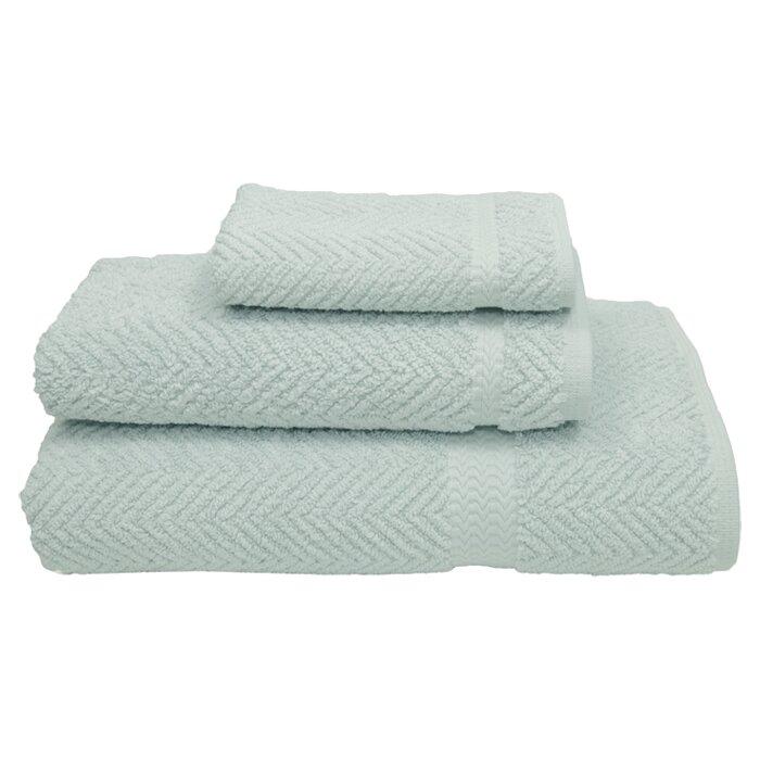 Linum Home Textiles Herringbone 3 Piece 100 Turkish Cotton Towel Set Wayfair
