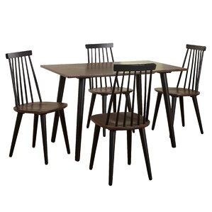 Dalaigh 5 Piece Dining Set by Union Rustic