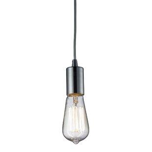 Brayden Studio Topete 1-Light Bulb Pendant