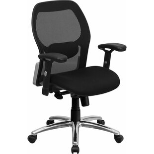 Symple Stuff Krout Mid-Back Mesh Executive Chair