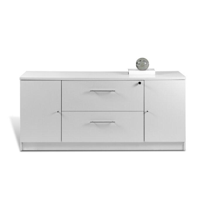 Buragate 2 Drawer Lateral Filing Cabinet