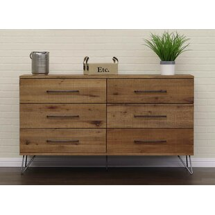 Austin 6 Drawer Double Dresser