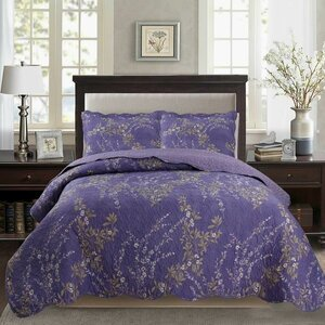 Humes Printed Pre-Washed Reversible Quilt Set