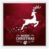 Reindeer Framed Art Wayfair