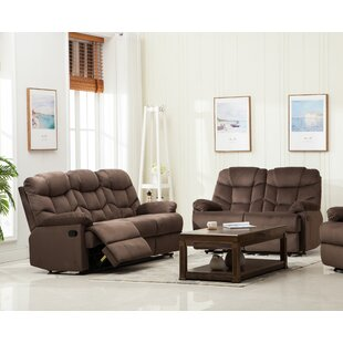 Hiran 2 Reclining Piece Living Room Set by Red Barrel Studio