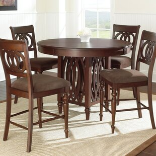 Dolly 5 Piece Dining Set by Steve Silver ..