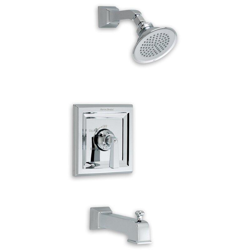 American Standard Town Square Diverter Bath Tub/Shower Faucet Trim ...