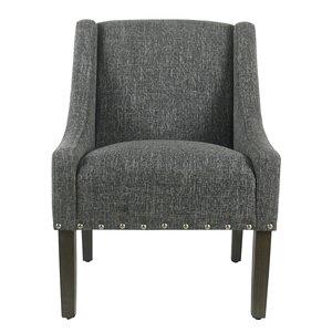 Londonshire Solid Swoop Armchair