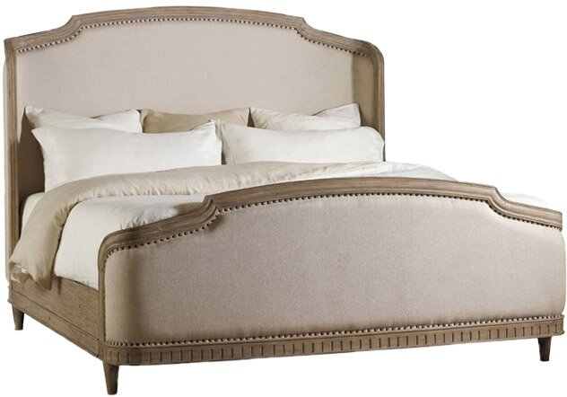 Hermon Upholstered Panel Bed