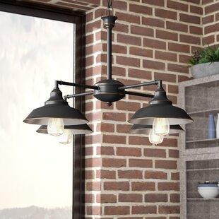 Trent Austin Design Alayna 4-Light Shaded Chandelier