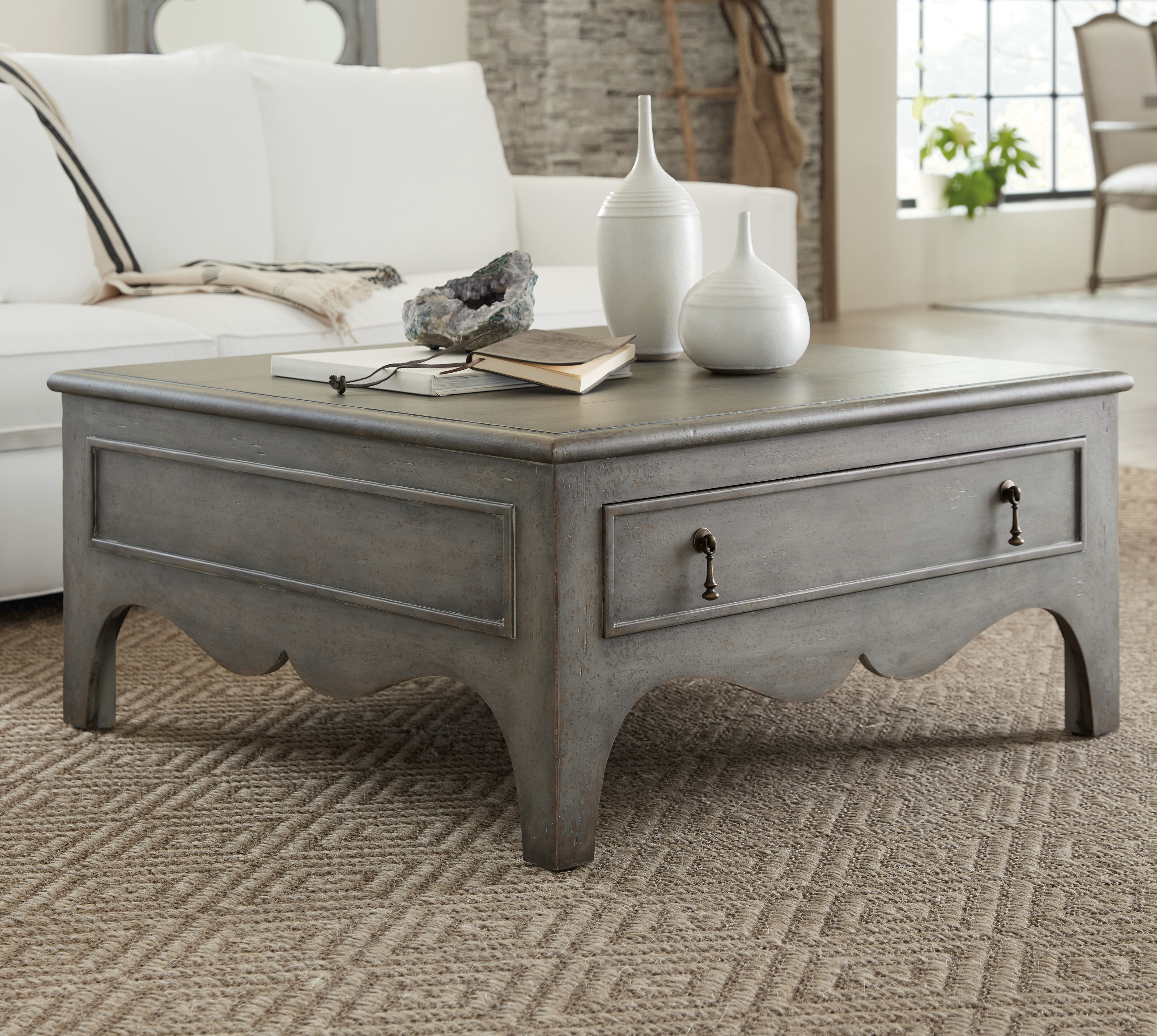 - Hooker Furniture CiaoBella Coffee Table With Storage Wayfair