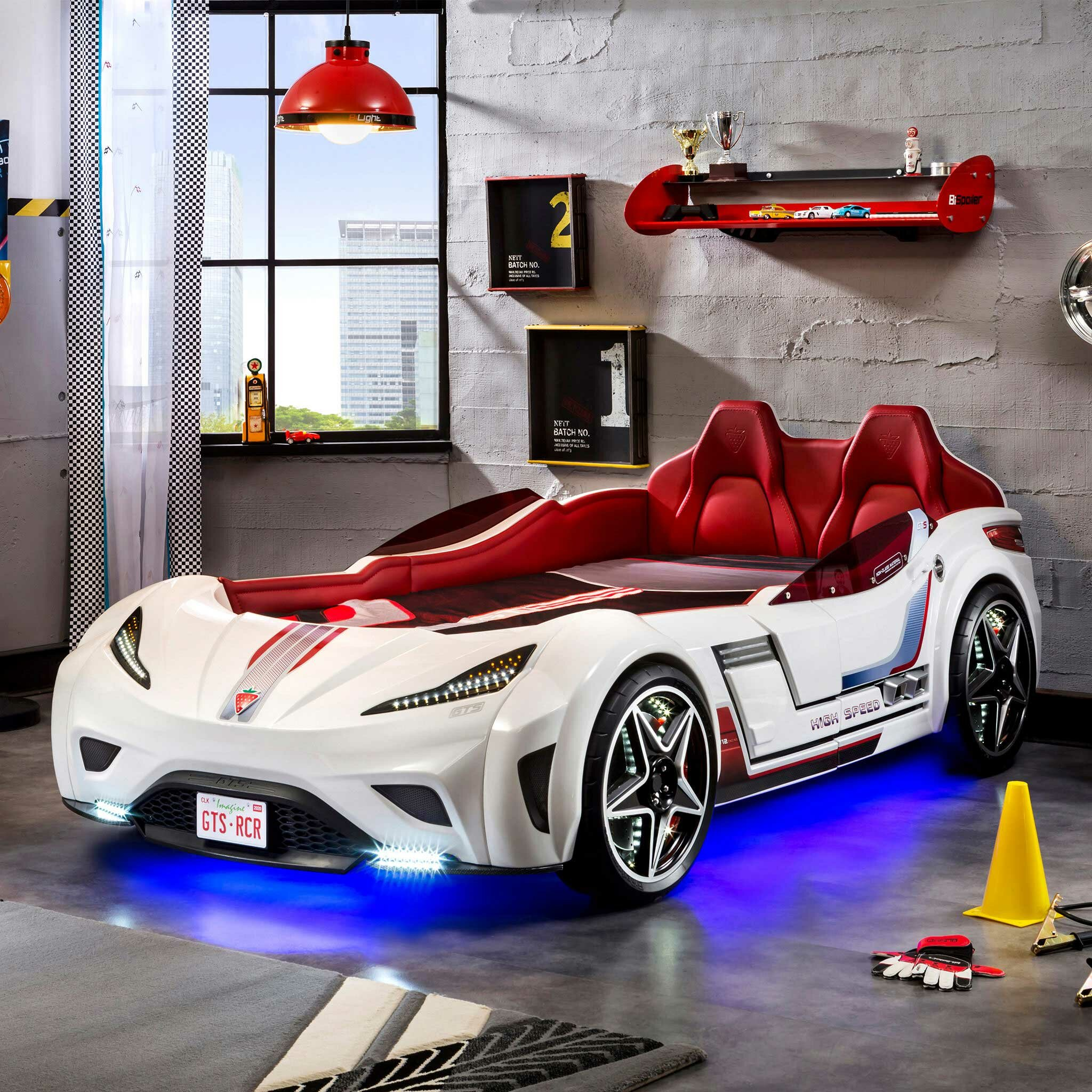 Cilek Champion Gts Coupe Italia Twin Car Bed Reviews