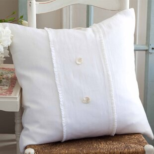 Irenee Linen Throw Pillow