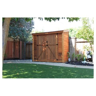 SpaceSaver 8 Ft. W X 4 Ft. D Solid Wood Lean-To Tool Shed By Outdoor Living Today