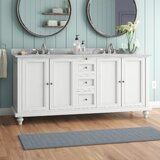 Medfield 71 Double Bathroom Vanity Set by Charlton Home®