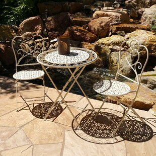Vandue Corporation Marseille 3 Piece Bistro Dining Set