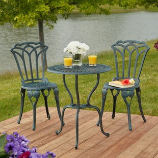 Ophelia & Co. Haverstraw 3 Piece Bistro Set
