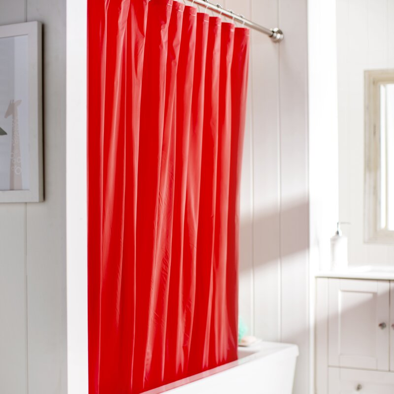Wayfair Basics™ Wayfair Basics Vinyl Shower Curtain Liner & Reviews ...