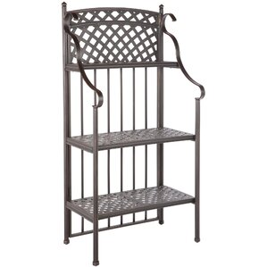 Greenwich Weave Baker's Rack in Antique To..