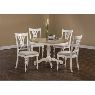 Carcassonne 5 Piece Dining Set August Grove