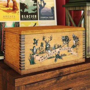 Savings Castleford Wooden Accessory Box ByLoon Peak