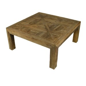 Oxalis Square Coffee Table by Rosecliff Heights