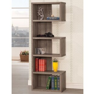 Dabrowski Sturdy Semi Backless Standard Bookcase by Wrought Studio Bargain