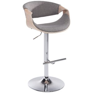 Adjustable Height Swivel Bar Stool by !ns..