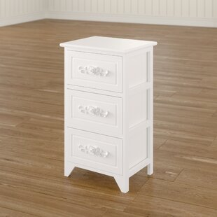 Esquina 3 Drawer Nightstand by Ophelia & Co.